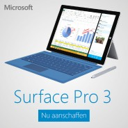 Microsoft Surface 3 Pro tablet