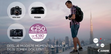 Canon summer promotions tot 31/7