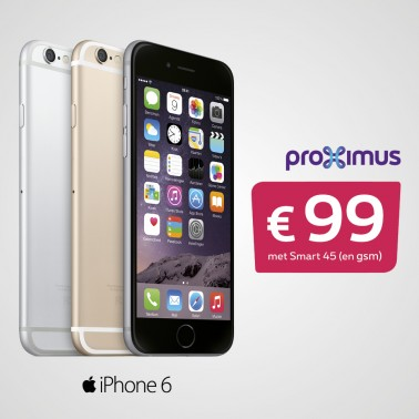 Iphone 6 joint offer proximus