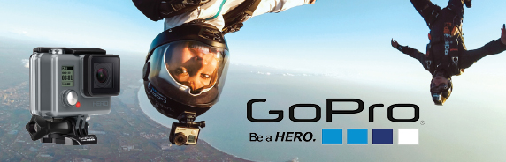 GOPRO action cams