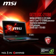 MSI Gaming notebook GE72