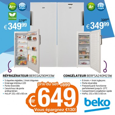 Beko action set Exellent
