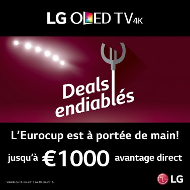 Deals endiablés LG TV/frigos