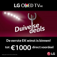 LG Duivelse deals TV/frigo