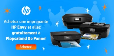 HP Envy all in one avec ticket Plopsa gratuit