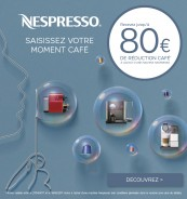 Réduction café Nespresso