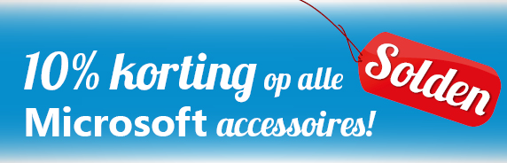 Korting Microsoft accessoires