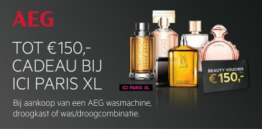 AEG Ici Paris XL voucher