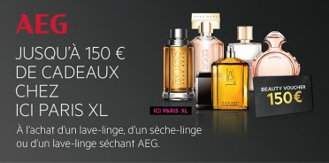 Voucher AEG Ici Paris XL