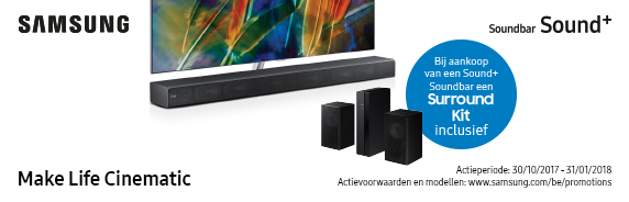 Samsung gratis surround kit